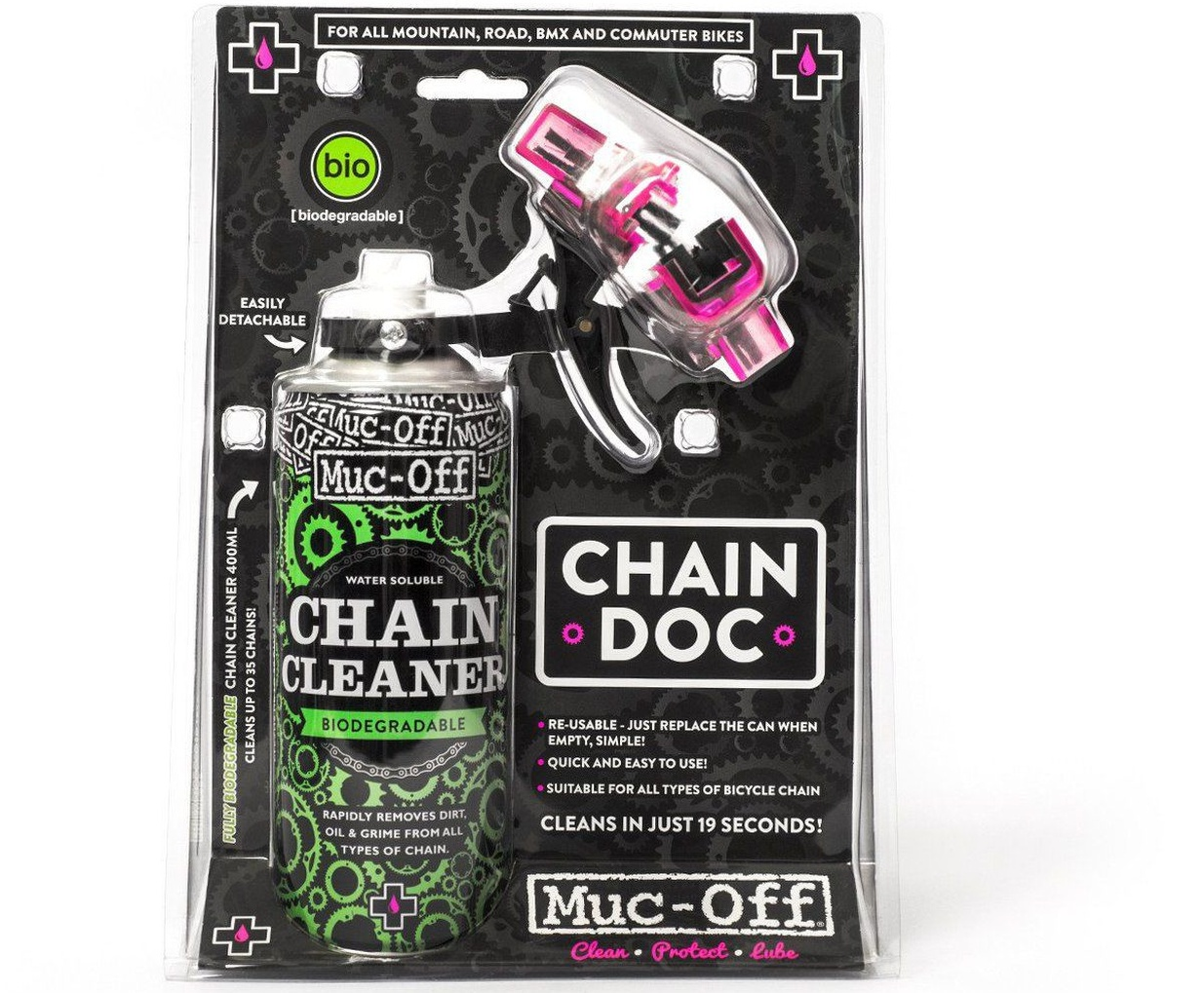 LIMPIADOR DE CADENA MUC-OFF CHAIN DOC 400ML