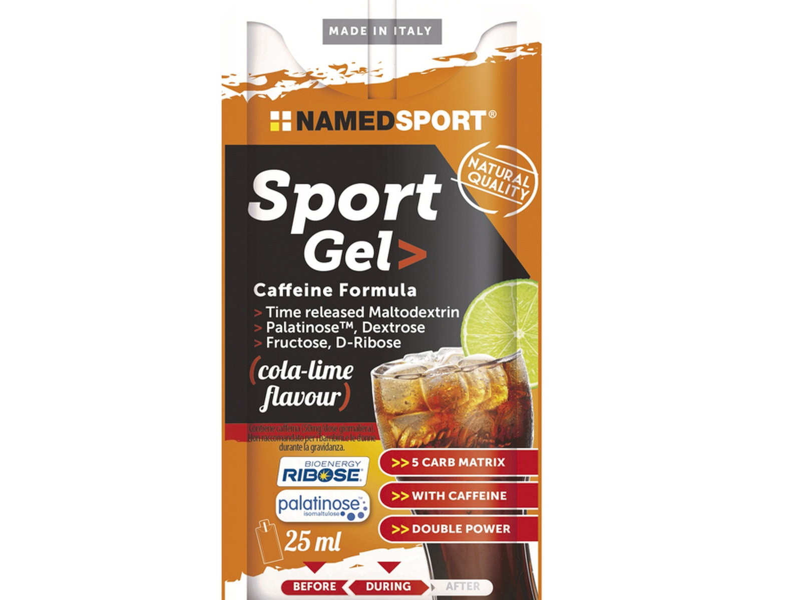 NAMED SPORT GEL CAFFEINE FORMULA 25ML