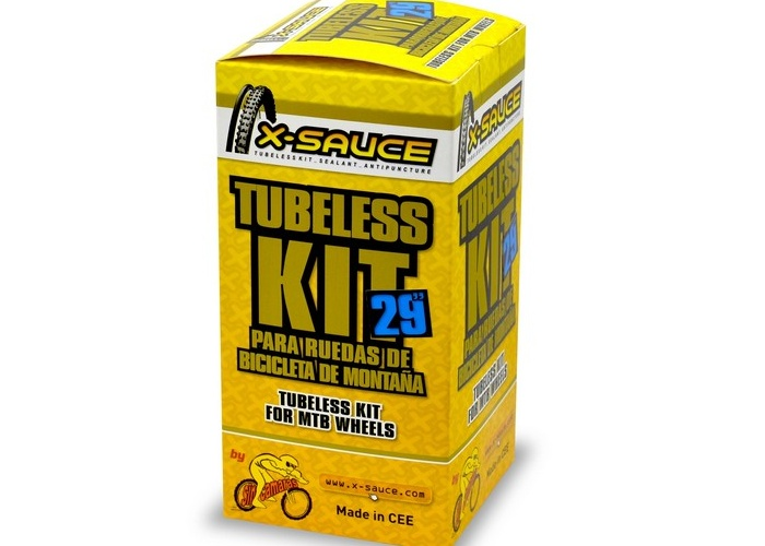 KIT CONVERSOR TUBELESS X-SAUCE 29""