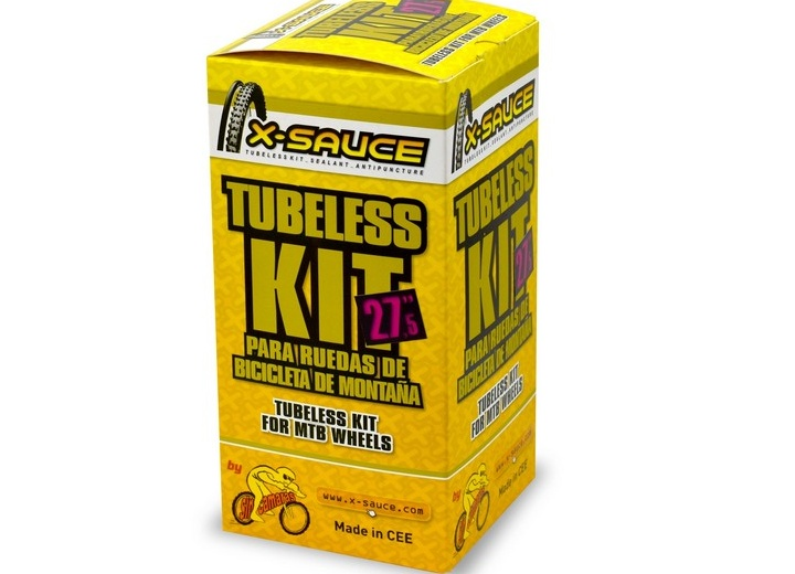 KIT CONVERSOR TUBELESS X-SAUCE 27.5""