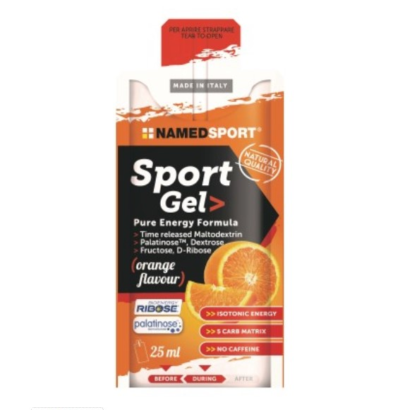 NAMED SPORT GEL PURE ENERGY FORMULA 25ML