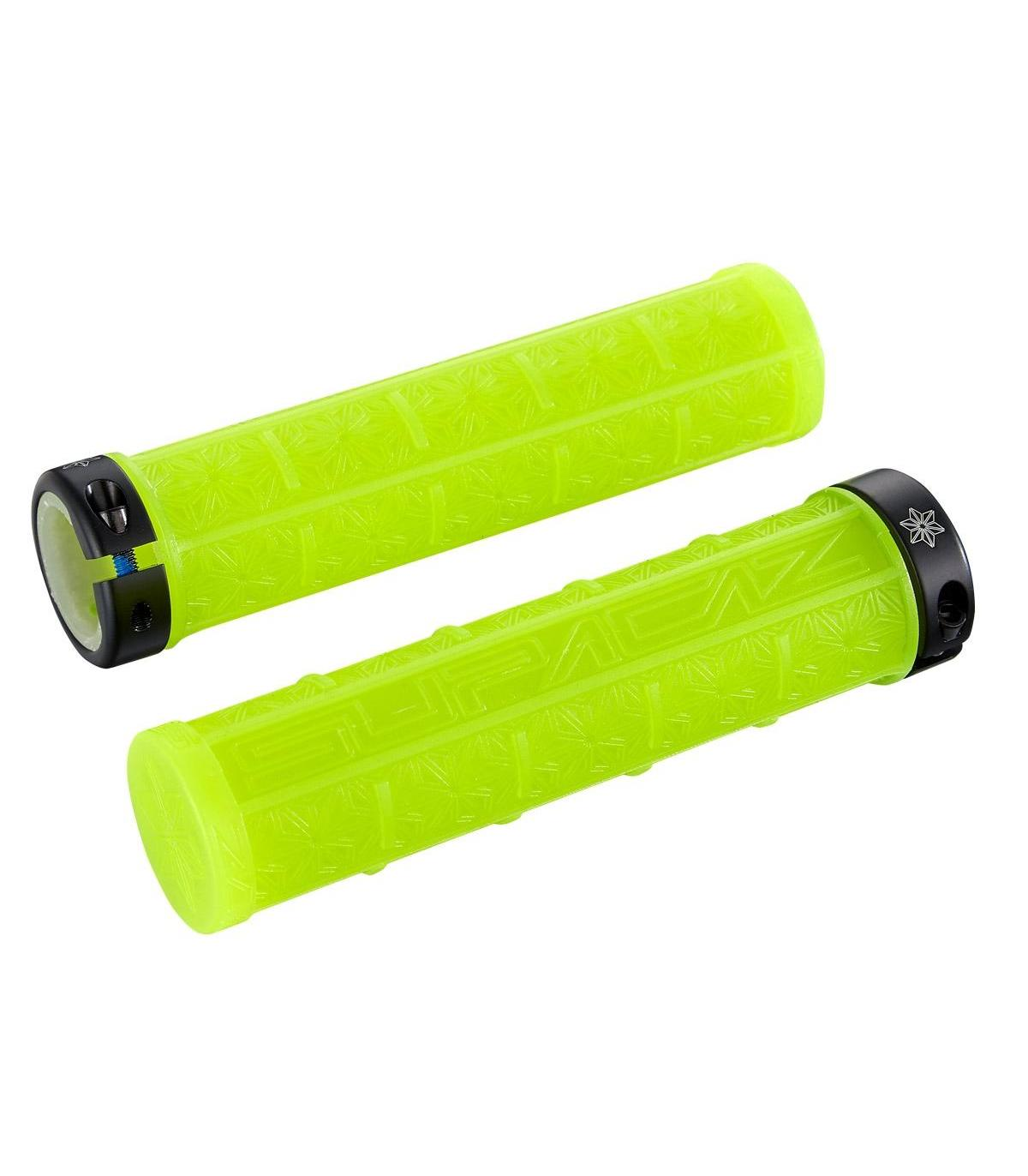 SUPACAZ GRIZIPS NEON YELLOW CLEAR
