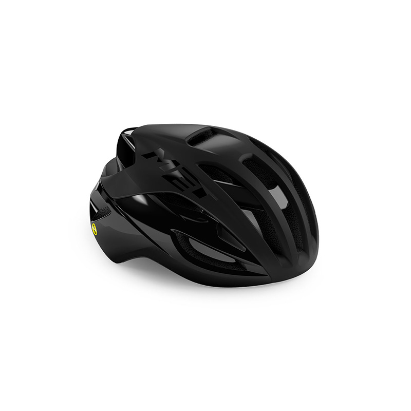 CASCO MET RIVALE NEGRO MATE BRILLO 2021