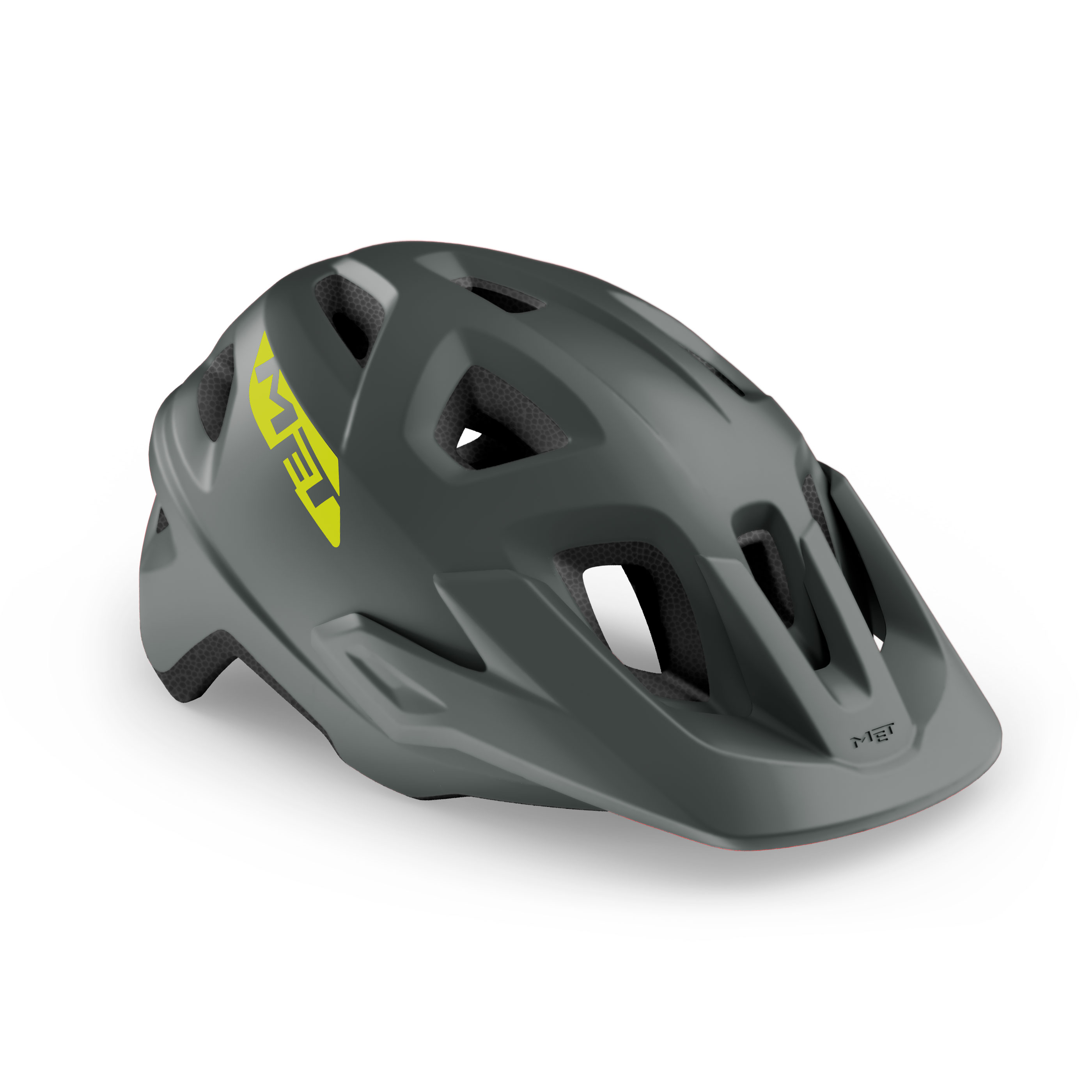 CASCO MET ECHO GRIS MATE 2021