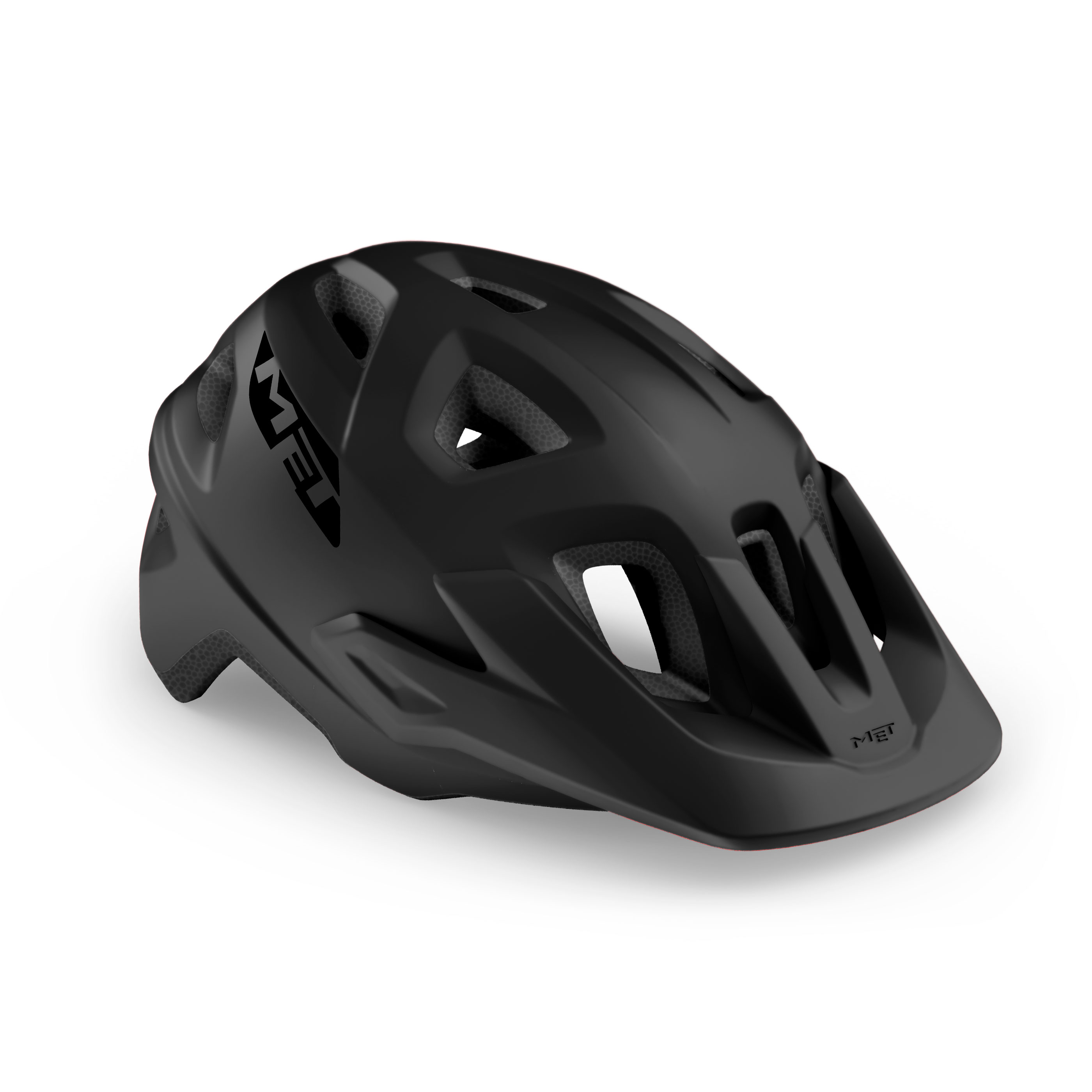 CASCO MET ECHO NEGRO MATE 2021