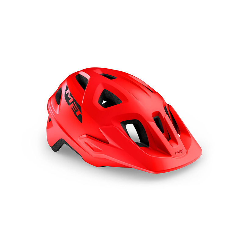 CASCO MET ECHO ROJO MATE 2021